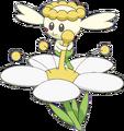 669Flabébé White Flower XY anime