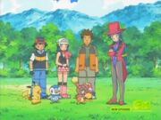 Ash and his friends figures out a solution about Chingling