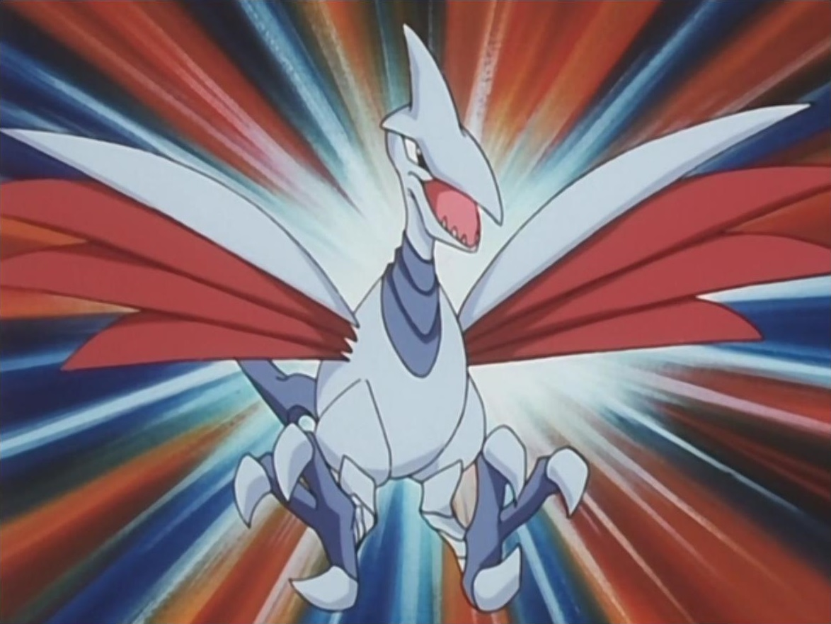 Skarmory is Miki's only known Pokémon, which she uses in her many battles against Fire-type Pokémon, exploiting a significant type weakness.