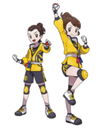 Sword and Shield Trainers (The Isle of Armor)