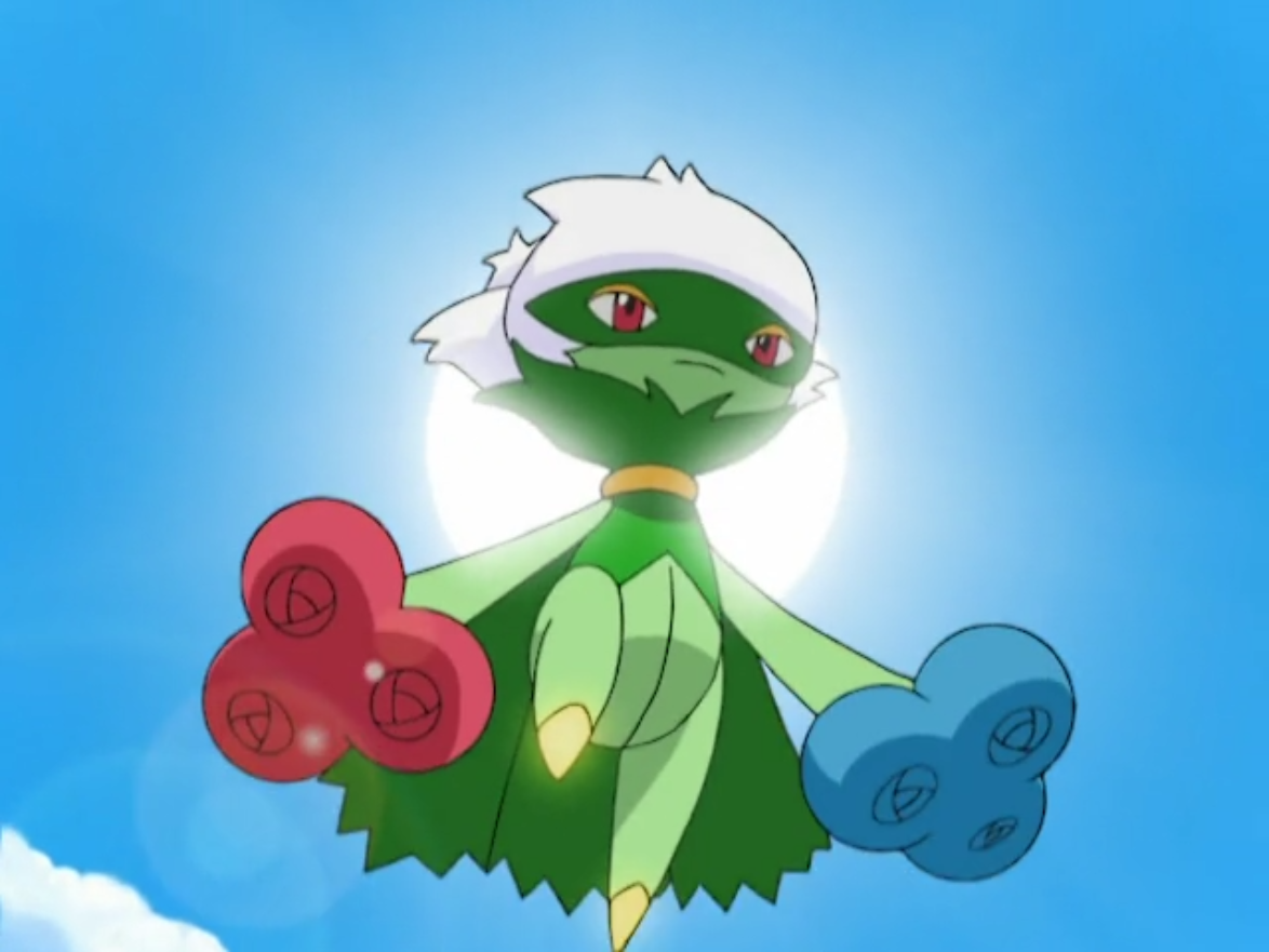 Gardenia's Roserade (anime)