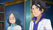 Professor Sycamore and Sophie