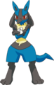 448Lucario DP anime 3