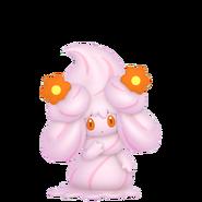 869Alcremie Ruby Cream Flower Sweet Pokémon HOME