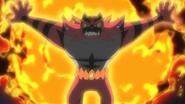 Kukui Incineroar Malicious Moonsault