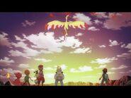 UK- Fletchinder Evolves! - Pokémon the Series- XY Kalos Quest - Official Clip