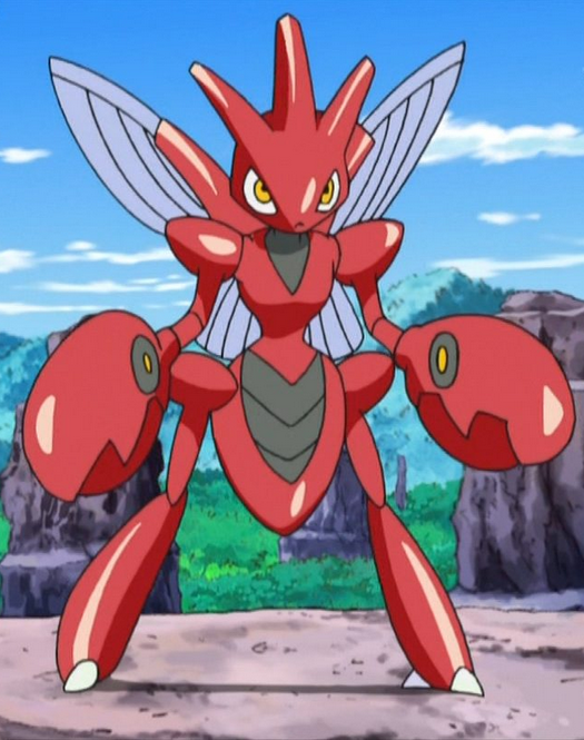 Scizor can't fly, but it can glide through the air in its mountainous home. It easily defeated Gliscor the first time they battled, but was nearly defeated the next time they battled.