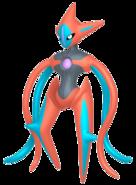 386Deoxys Attack Forme Pokémon HOME