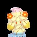 869Alcremie Rainbow Swirl Flower Sweet Pokémon HOME