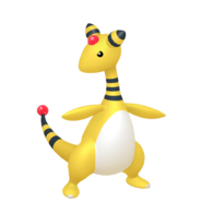 181Ampharos Pokémon HOME