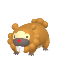 399Bidoof Female Pokémon HOME