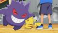 Ash Pikachu and Gengar