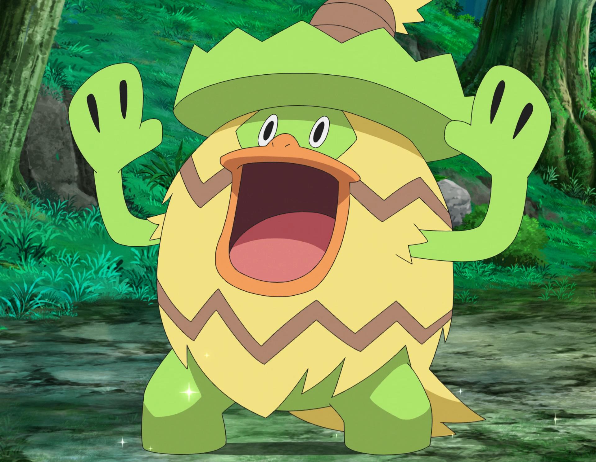 Brock's Ludicolo