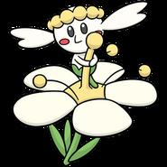 669Flabébé White Flower Dream