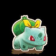 001Bulbasaur Pokémon Mystery Dungeon Rescue Team DX