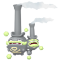 110Weezing Galarian Pokémon HOME