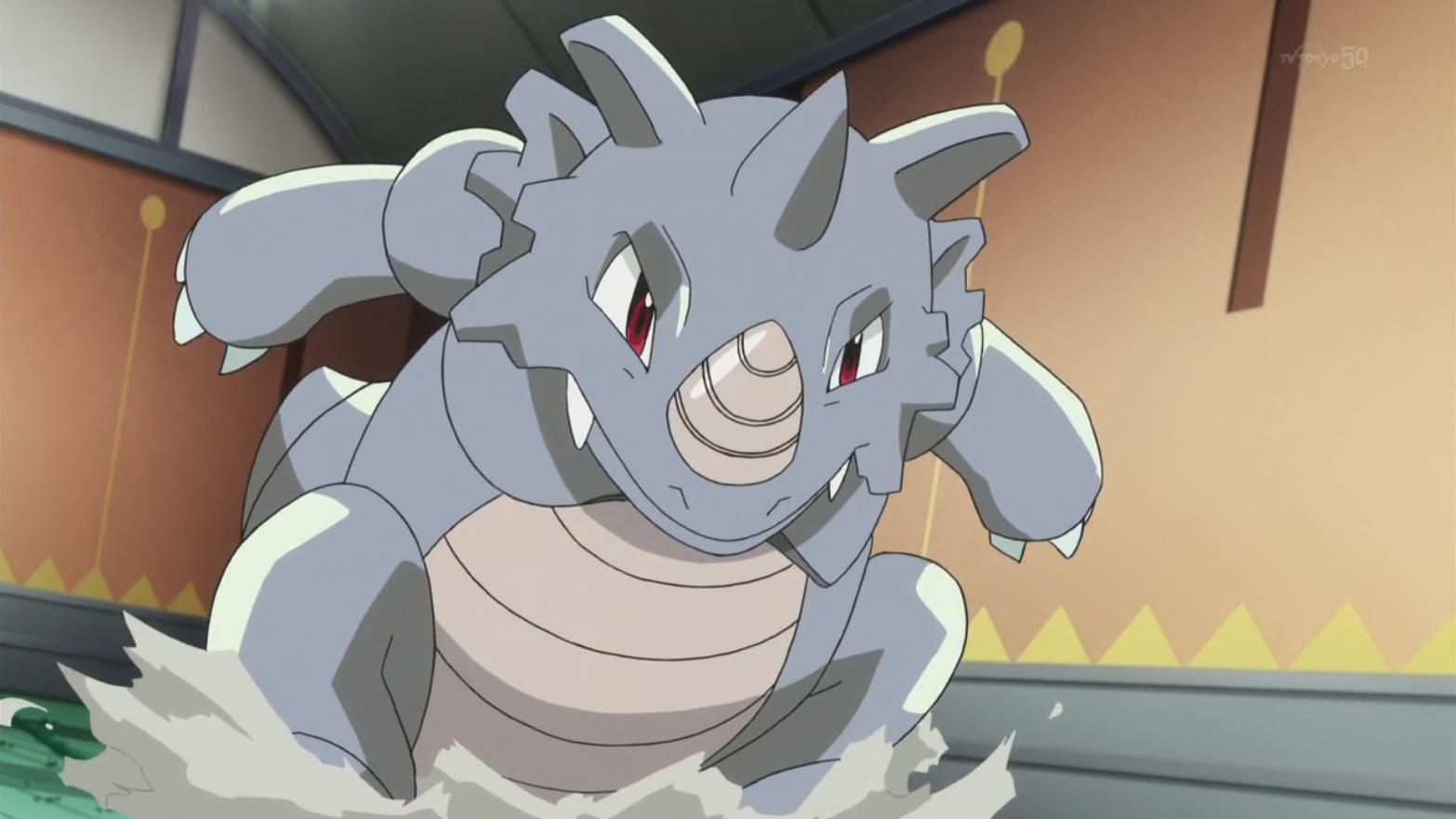 Giovanni's Rhydon (Origins)