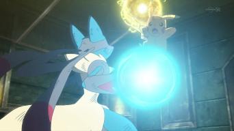 XY043: Showdown at the Shalour Gym!