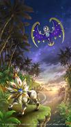 Legendary Pokémon of Alola Poster