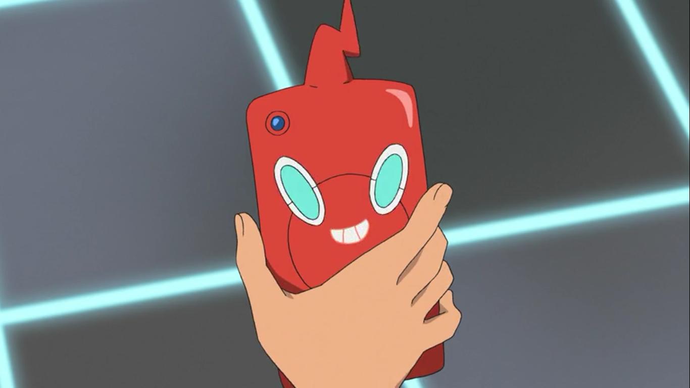 Ash's Rotom Phone