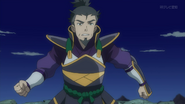 Kagetomo without his mask