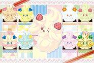 Pokemon center alcreamie artwork