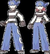 Team Aqua Grunts Ruby and Sapphire
