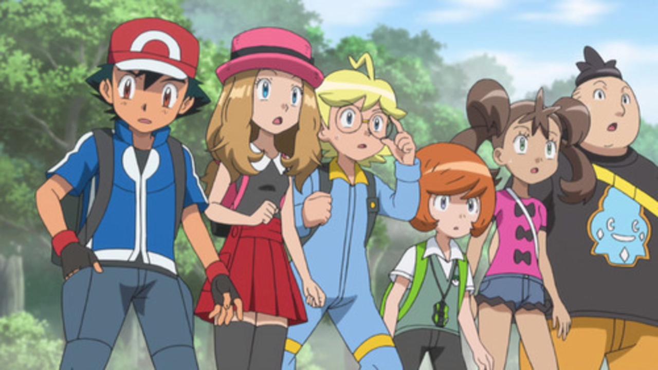 XY040: Foggy Pokémon Orienteering!