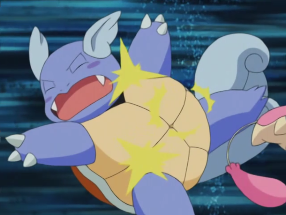 Stefano used Wartortle in the Contest.