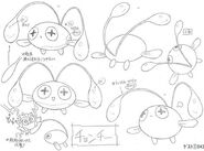 Chinchou concept art