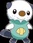501Oshawott BW anime 2