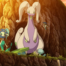 Goodra, Florges and Floette in XY140.png