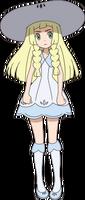 Lillie anime Sun and Moon