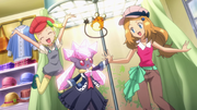 Serena, Bonnie and Diancie outfits 5