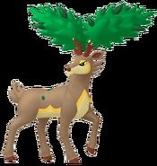 586Sawsbuck Summer Pokémon HOME