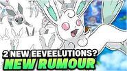 NEW EEVEELUTION RUMOUR for Pokemon Sword and Shield! New Flying Type & Steel Eeveelutions!?