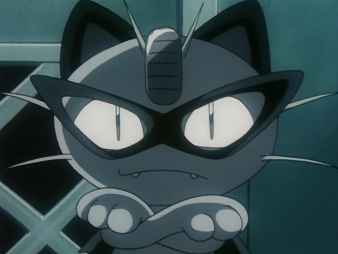 The Black Arachnid had a Meowth, who used Pay Day to distract police officers.