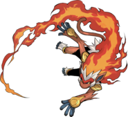 392Infernape Pokemon Conquest