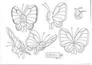 Butterfree concept art