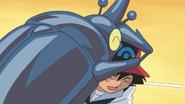 Ash and Heracross