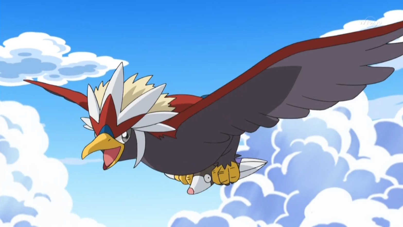 """Being the """"battler of the sky"""", Soren uses Braviary in battles."""