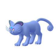 Alolan Persian GO Shiny