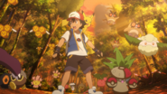 Ash Ketchum & Pikachu Pokemon Panic - Secrets of the Jungle