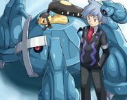 Steven Stone, Metagross, Mawile and Beldum