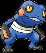 453Croagunk Pokemon Ranger Guardian Signs