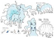 Alolan ninetales concept