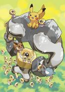 Pokémon Let's Go Pikachu, Eevee, Meltan, Melmetal