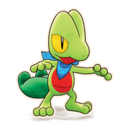 252Treecko Pokémon Mystery Dungeon Rescue Team DX