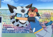 Ash and Glalie