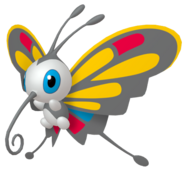 267Beautifly Pokémon HOME